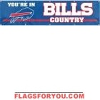 Bills Banner 8' x 2'
