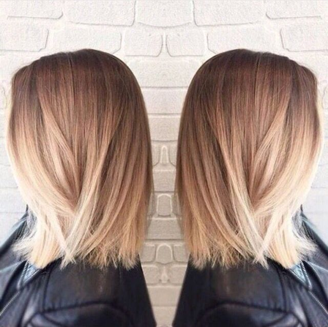 Love this hair colour and style
