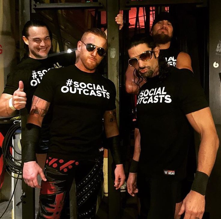 WWE #SocialOutcasts: Heath Slater, Adam Rose, Curtis Axel