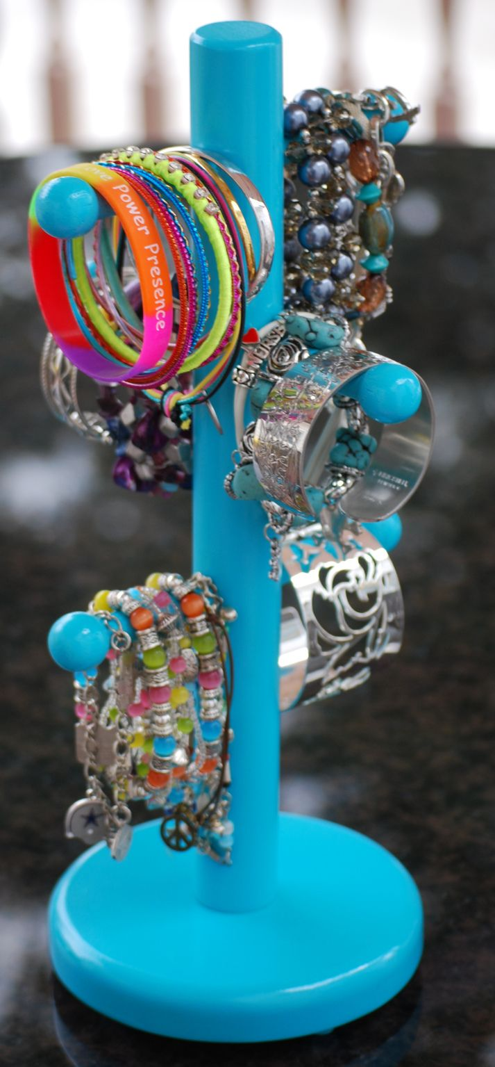1363 best images about organize on pinterest for Bangle organizer diy