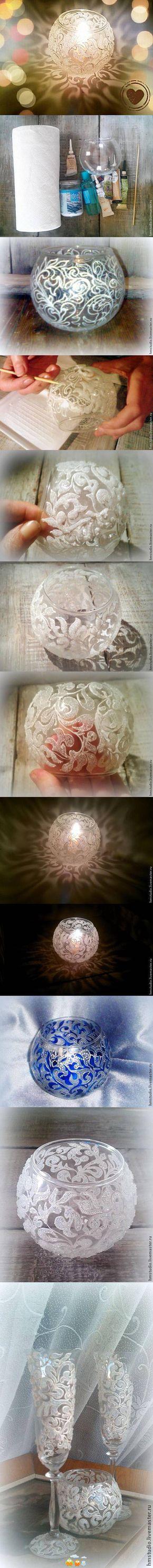Some kind of painted tea holder