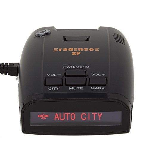 Radenso XP Radar & Laser Detector with GPS Lockout and Red Light / Speed Camera Voice Alerts. For product info go to:  https://www.caraccessoriesonlinemarket.com/radenso-xp-radar-laser-detector-with-gps-lockout-and-red-light-speed-camera-voice-alerts/