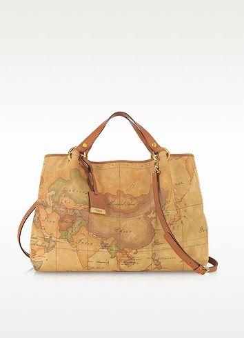 Alviero Martini 1A Classe Geo Printed Large 'Contemporary' Handbag