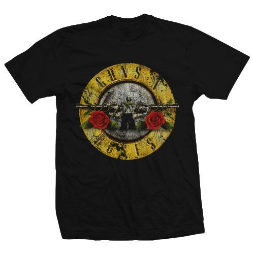 Bravado Guns N' Roses Distressed T−Shirt - Listing price: $20.00 Now: $12.60