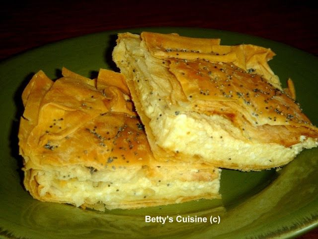 Τυρόπιτα με φέτα και γραβιέρα Νάξου