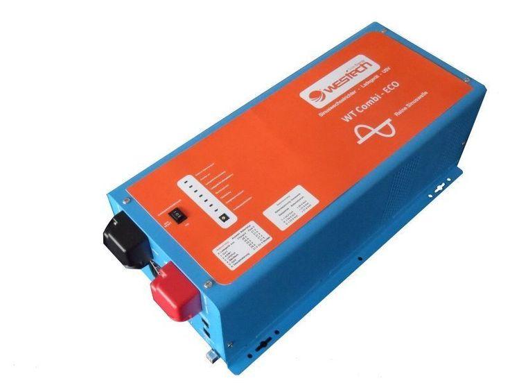 2000Watt 24Volt Sinus Wechselrichter Spannungswandler USV WT-Combi-ECO 3006-05