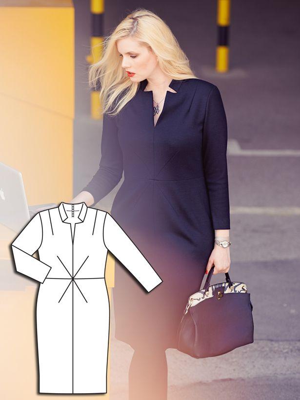 Power Dressing: 7 New Plus Size Patterns – Sewing Blog | BurdaStyle.com