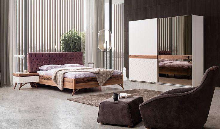 inegöl mobilya Estee Yatak Odası Takımı