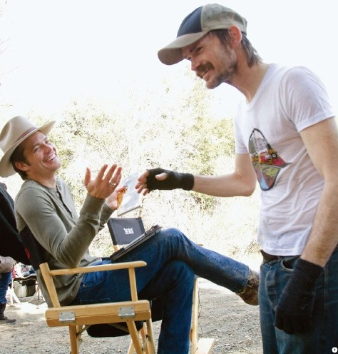 Justified, behind the scenes.