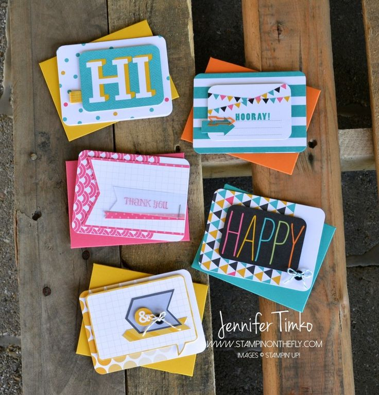 Jen Timko - Project Life - Every day note cards