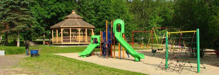 Une belle journée au parc municipal de #kinnearsmills #piquenique #familymoment