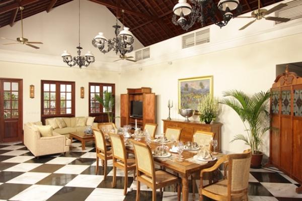 Living Room at Villa Batavia, Seminyak, Bali