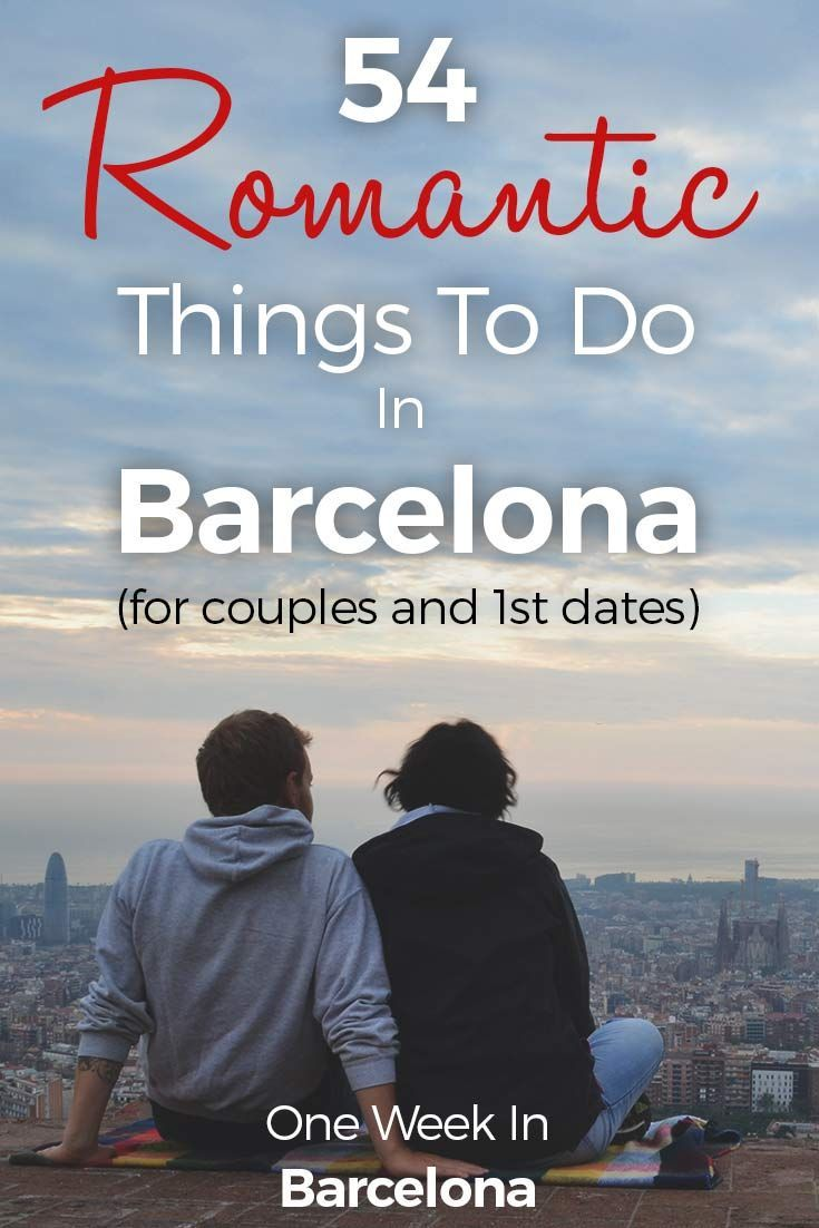 Barcelona is a romantic city! No wonder, with all the narrowed streets in the beautiful old town of El Gótico, the cities beach front, a delicious cuisine and so much more. It is a wonderful city for 1st dates, romantic weekend breaks and vacation time. It is even a great spot for proposals!