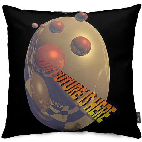 The Future is Here by Peter Grayson - Throw Pillows - $40.00 #Nuvango #throwpillow