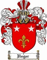 Unger Coat of Arms / Unger Family Crest