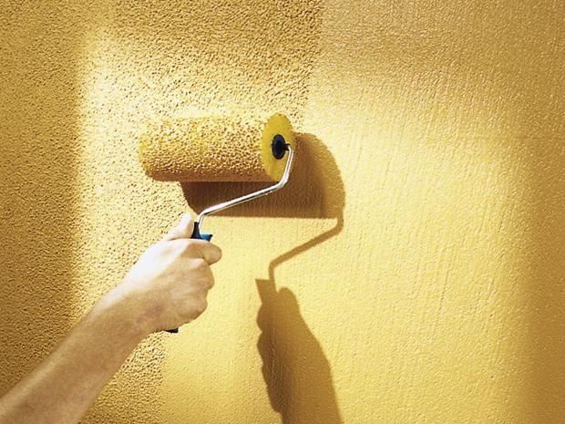 Die besten 25 putz streichen ideen auf pinterest gips - Wand streichen struktur ...