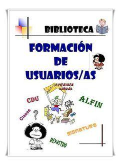 Guía de actividades para la formación de usuarios de la biblioteca escolar. 1º ciclo de EP