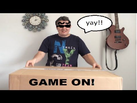 Unboxing My Gaming PC!!!!