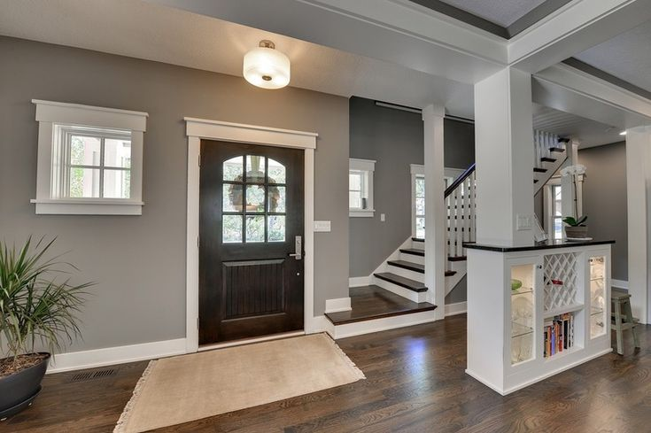 Traditional Entry By Highmark Builders Sherwin Williams