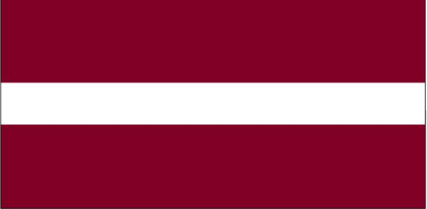 Country Flags: Latvia Flag