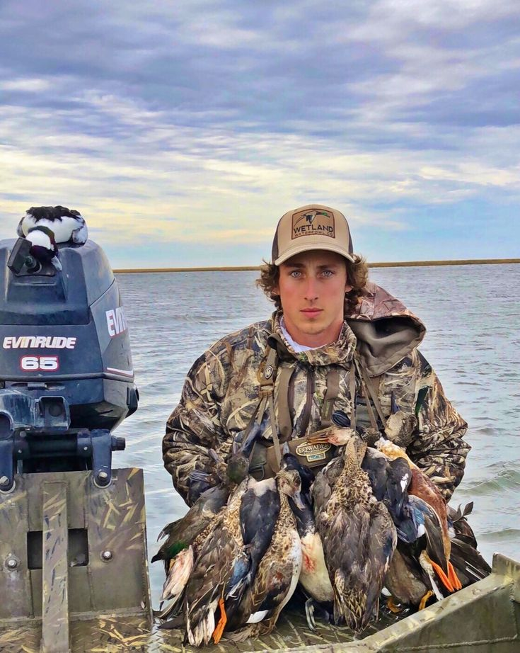 Another successful hunt in the Wetland Waterfowl Company Mallard hat--the perfect gift for duck hunters!