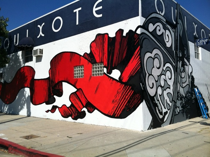 David Flores Gets Quixotic in Los Angeles, California