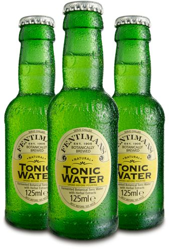 Fentlmaimans Tonic Water >  The world's first botanically brewed tonic water is made with a blend of herbal infusions and lemongrass extract which creates a refreshing and unique tonic water.