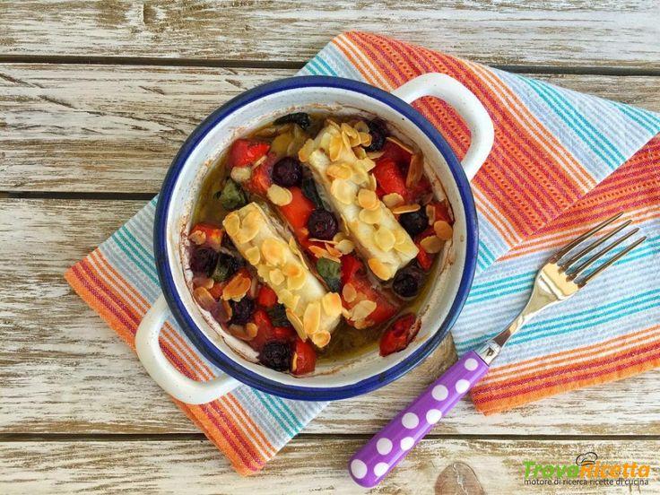 Merluzzo FRoSTA con mirtilli, mandorle e menta  #ricette #food #recipes