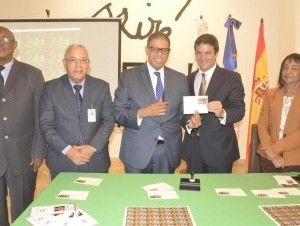 Emiten sello postal conmemorativo al 400 Aniversario de muerte de Cervantes