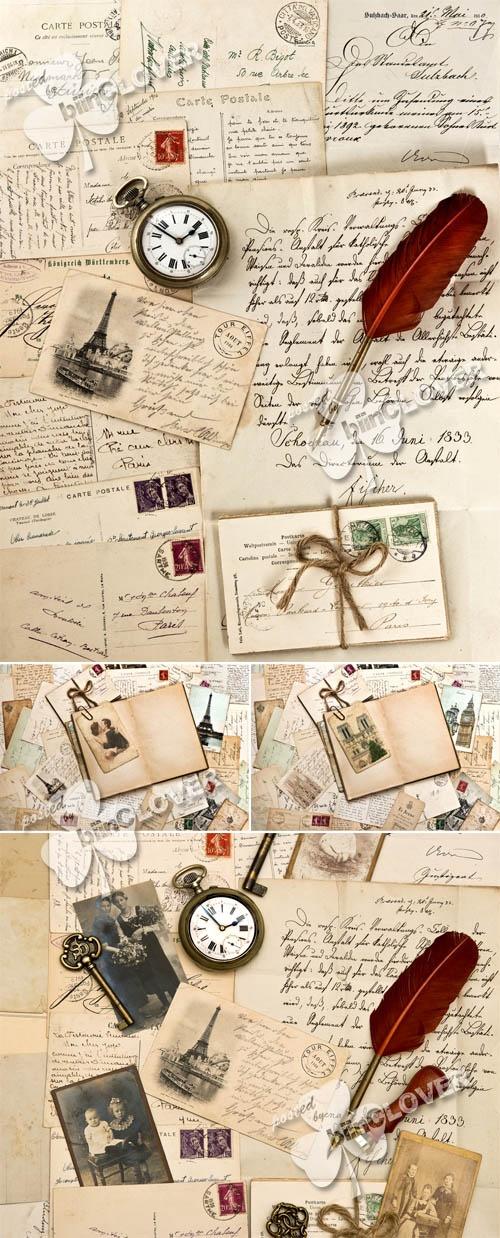 Romantic vintage background 0312