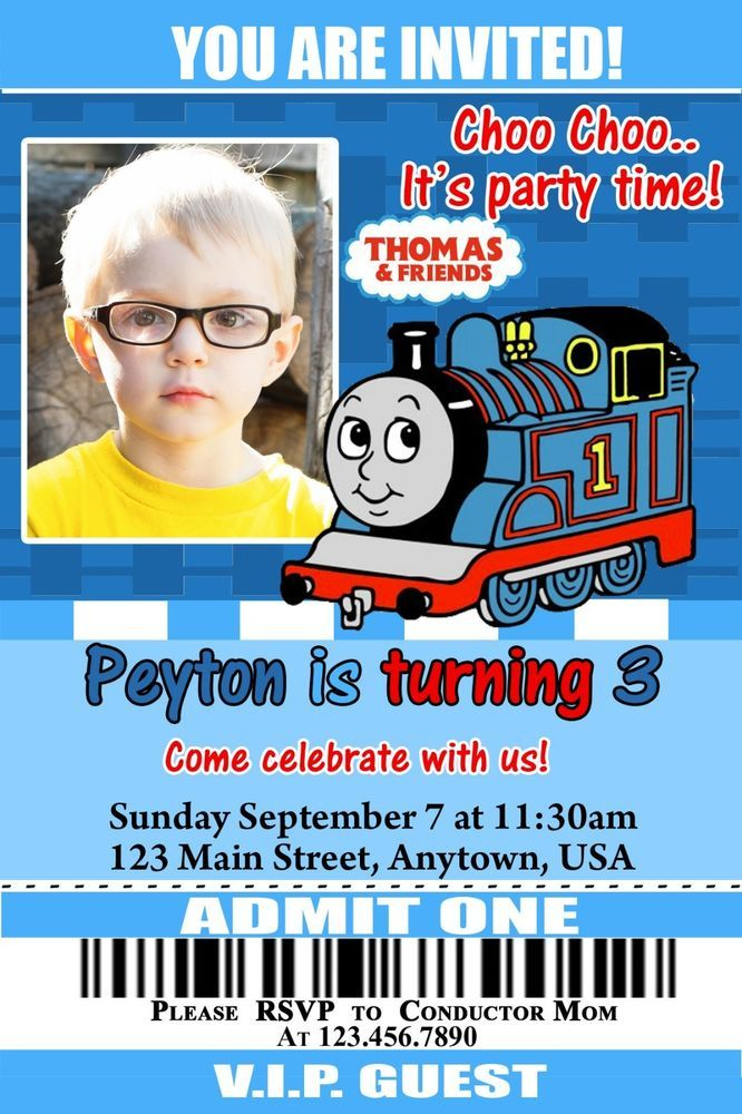 69 best Thomas the train party images on Pinterest | Train party ...