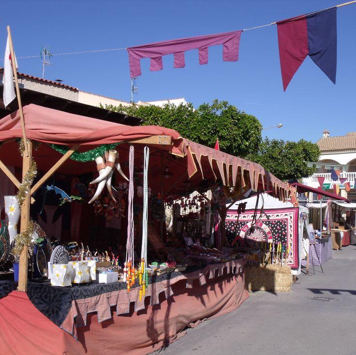 Medieval Market - Three Kings Fiesta - Los Gallardos
