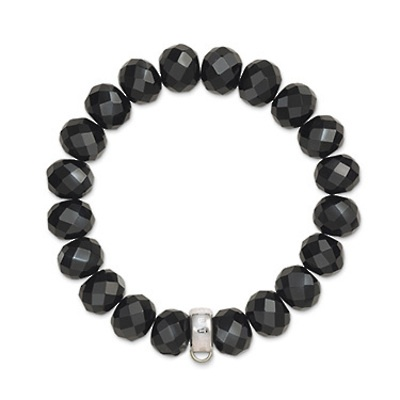 Stg obsidian THOMAS SABO bracelet - medium