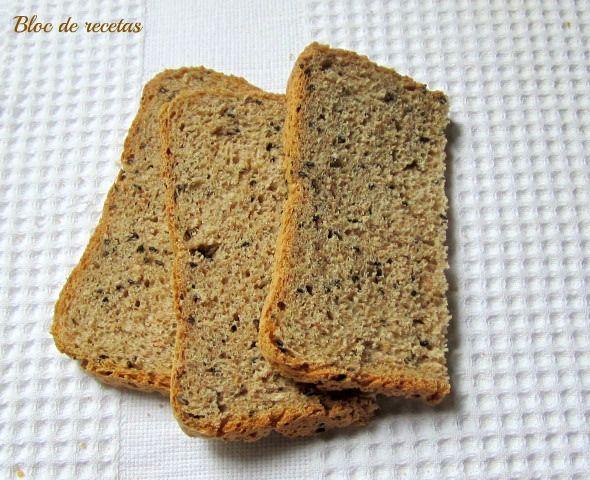 Este es un pan ideal para las tostadas del desayuno, lo he congelado en rebanadas y cada noche dejo una a temperatura ambiente para tost...
