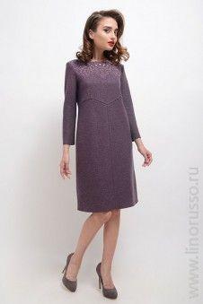 #autumn2015 #winter2015 #LinoRusso #dress #chic #woolen