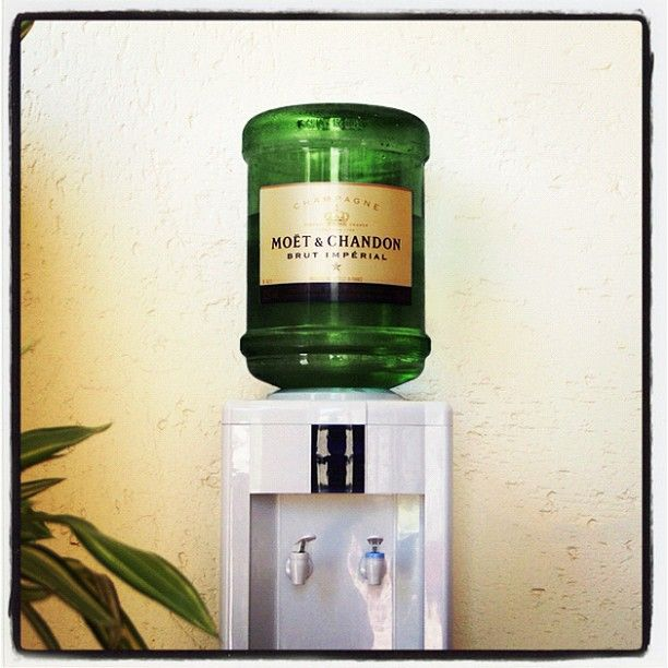 Don't you wish your office had this cheeky Champagne cooler for Friday afternoons?: Idea, Water Coolers, Fun Stuff, Bubbles, The Offices, House, Coolers Wine, Wine Coolers, Champagne Coolers
