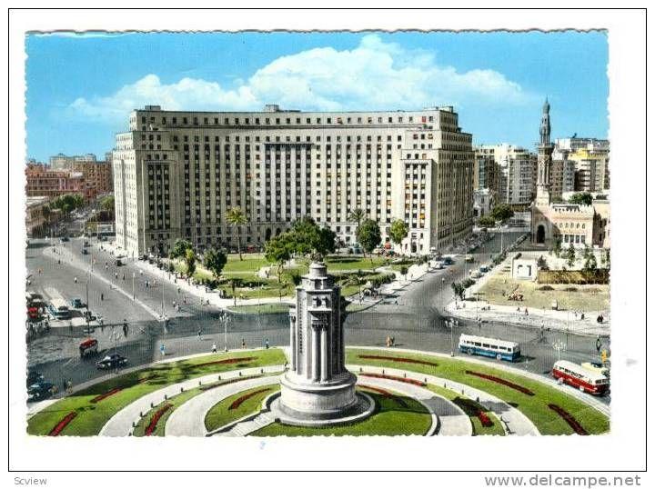 Tahrir Square, Cairo, Egypt, 1950-1970s