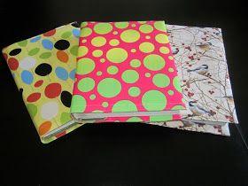 s.o.t.a.k handmade: Fabric (text)book cover tutorial