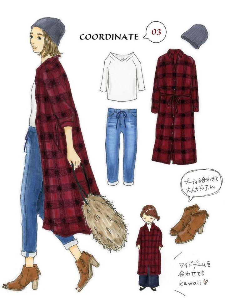 Instagramで今話題のファッションイラスト。大人気のイラストレーターあわのさえこさんが「今着たいユニクロアイテム」を使ったコーディネートを提案する連載、第9弾!9月に入り「そろそろ秋ファッションにシフトしたい!」と思っている方も多いのではないでしょうか。そこで今回は、トレンド感たっぷりの秋カラーを取り入れたコーディネートをご紹介します。かわいい新キャラのワンポイントアドバイスにも注目!「この...