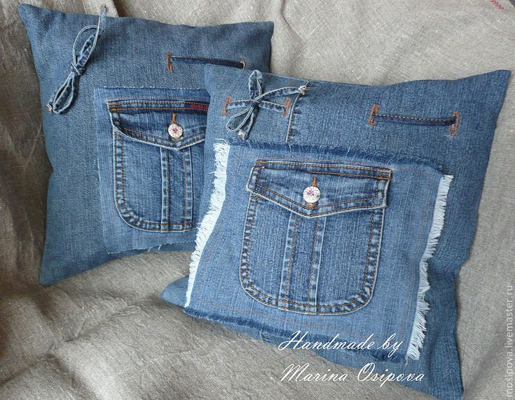 HAND-MADE. Старые джинсы = новые вещи! Больше 100 идей! | Мой мир в фотографиях