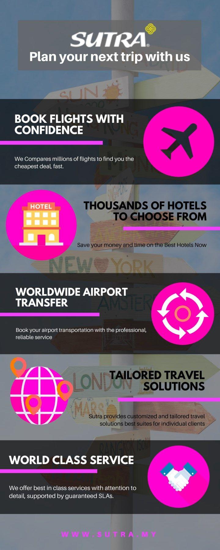 Travel Agency Malaysia - Sutra   Travel Agency Kuala Lumpur