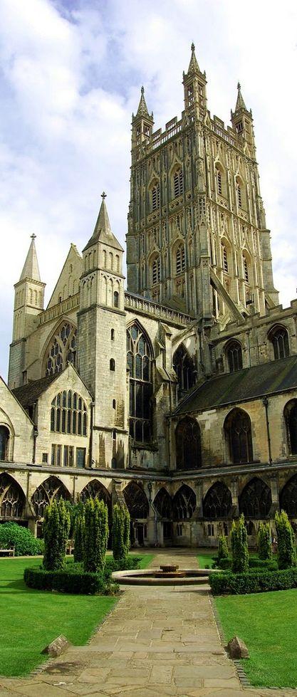 Gloucester Cathedral, Gloucestershire, England, UK