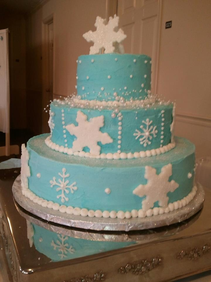 Winter Wonderland Cake Quinceanera Cake Ideas Pinterest