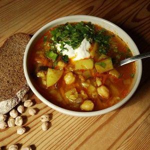 Вегетарианский рассольник с нутом рецепт – вегетарианская еда: супы. «Афиша-Еда»