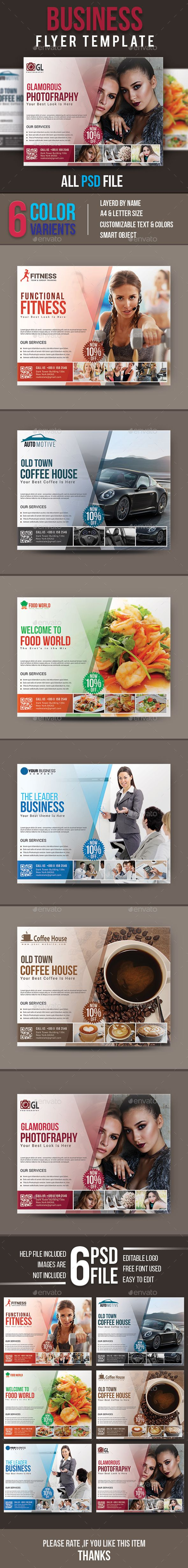 #Business #Flyer #Template - Flyers Print Templates