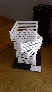 Contoh Nirmana 3D Media Sedotan ( Nirmana 3D Straw ) By : Muahmmad Iqbal Gunadi | Click the website to see more