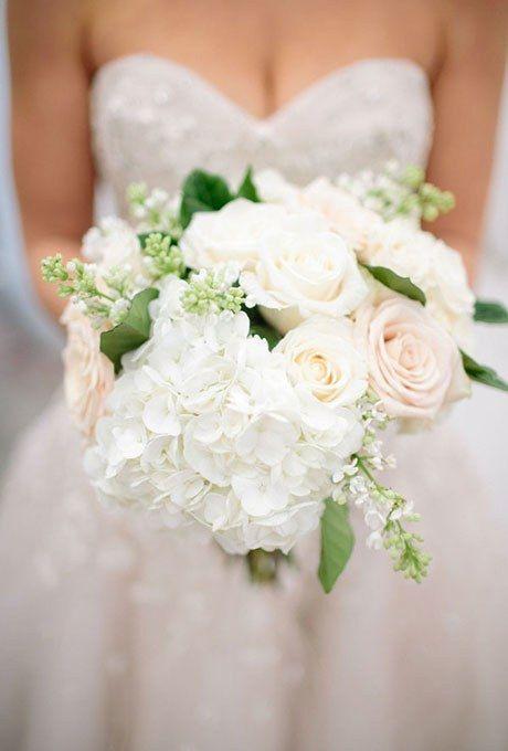 Hydrangea Wedding Bouquets