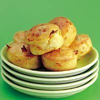 Recept - Kruidenkaasmuffins met bosuitjes - Allerhande #dutchlanguage