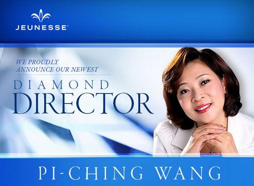 We proudly announce our newest Diamond Director, Pi-Ching Wang. Please join us in congratulating Pi-Ching on her remarkable achievement. #Jeunesse
