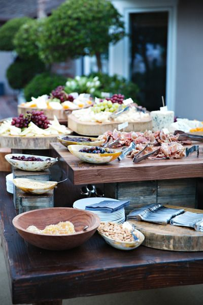 33 best images about buffet table set up design ideas on for Ensemble table buffet